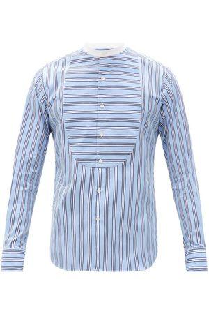 Sébline Bunny Riviera-stripe Cotton-poplin Shirt - Mens - Multi