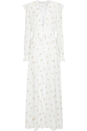 Alessandra Rich Floral maxi dress