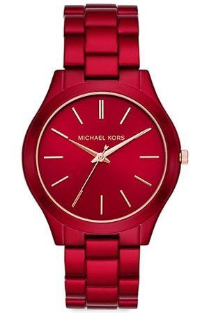 Michael Kors Watches - Petite Runway Stainless Steel Bracelet Watch