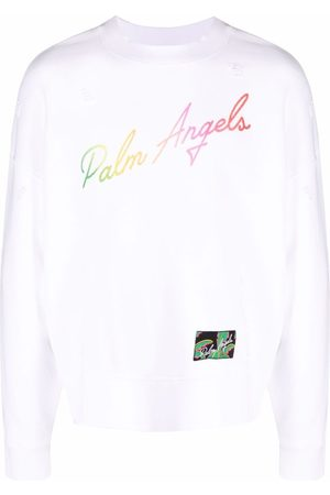 Palm Angels Logo-print sweatshirt