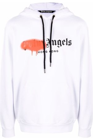 Palm Angels Men Hoodies - Ibiza Sprayed hoodie