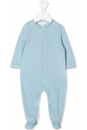 MARIE CHANTAL Appliqué velvet-effect babygrow