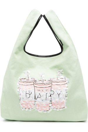 BAPY Women Shoulder Bags - Sequin-embellished shoulder bag