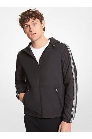 Michael Kors Outdoor Jackets - MK Logo Tape Packable Hooded Jacket - - Michael Kors