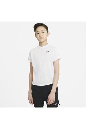 Nike Boys Short Sleeve - Court Dri-FIT Victory Older Kids' (Boys') Short-Sleeve Tennis Top
