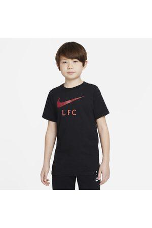 Nike Boys Short Sleeve - Liverpool F.C. Older Kids' Football T-Shirt