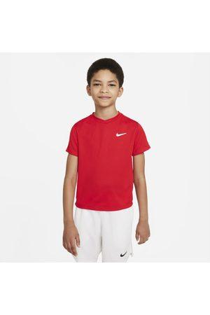 Nike Court Dri-FIT Victory Older Kids' (Boys') Short-Sleeve Tennis Top