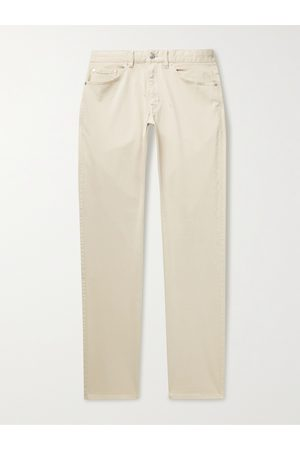 Peter Millar Men Chinos - Ultimate Stretch Cotton and Modal-Blend Sateen Trousers