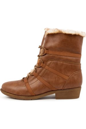 I LOVE BILLY Women Ankle Boots - Roly Il Warm Tan Natural Boots Womens Shoes Casual Ankle Boots