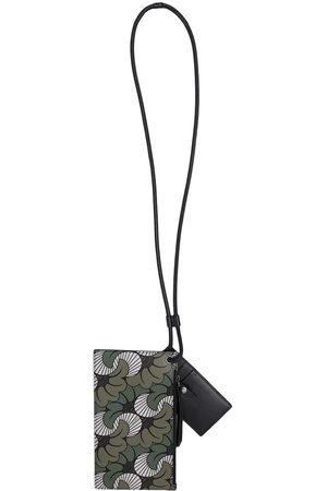 Ports V Wallets - Floral paisley-print strap cardholder