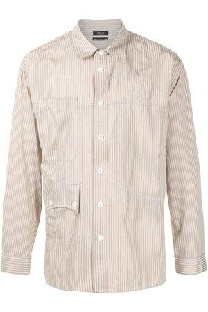 FIVE CM Men Business - Striped two-pocket shirt