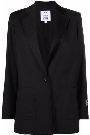 Armani Women Blazers - Single-buttoned tailored blazer