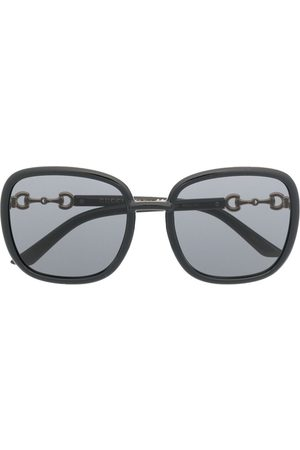 Gucci Square-frame tinted sunglasses