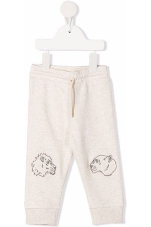 Kenzo Joggers - Embroidered animal track pants