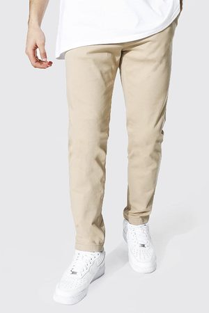 Boohoo Men Chinos - Mens Stone Skinny Fit Chino Trouser