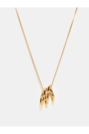 COMPLETEDWORKS Flow 14kt -plated Sterling-silver Necklace - Mens