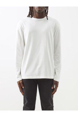 The Row Men Long Sleeve - Leon Cotton-jersey Long-sleeved T-shirt - Mens