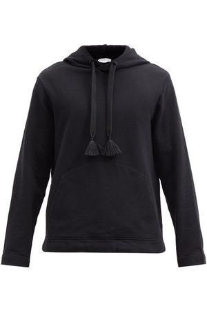 5 MONCLER CRAIG GREEN Tasselled Cotton-jersey Hooded Sweatshirt - Mens
