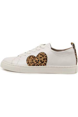 Walnut Melbourne Women Casual Shoes - Heart Sneaker Wa Leopard Sneakers Womens Shoes Casual Casual Sneakers