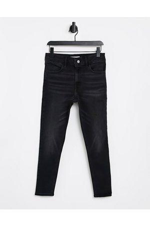 Topshop Four skinny jean in black wash