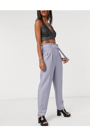 Topshop Peg pant in blue