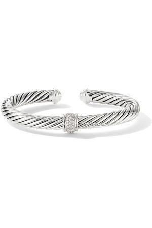 David Yurman Women Bracelets - 7mm pavé station bracelet