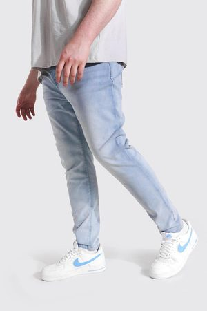 Boohoo Mens Ice Plus Size Stretch Skinny Fit Jean