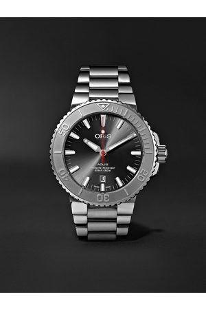 Oris Men Watches - Aquis Date Relief Automatic 43.5mm Stainless Steel Watch, Ref. No. 01 733 7730 4153-07 8 24 05PEB