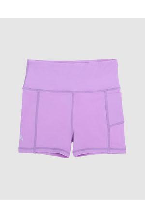 School Active Sports SAS Active Empower Flex Shorts - Sports Tights (Violet) SAS Active Empower-Flex Shorts