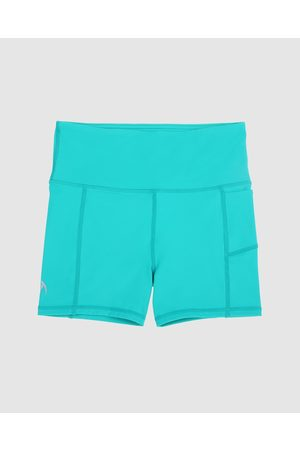 School Active Sports SAS Active Empower Flex Shorts - Sports Tights (Teal) SAS Active Empower-Flex Shorts