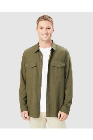 French Connection Utility Regular Fit Shirt - Casual shirts (MOSS) Utility Regular Fit Shirt