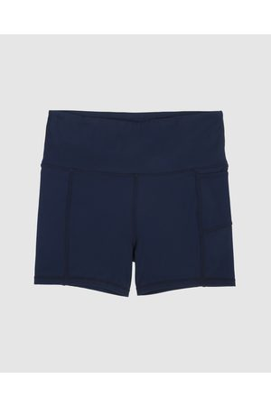 School Active Sports Empower Flex Shorts - Sports Tights (Navy) Empower-Flex Shorts