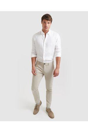 SABA Judd Slim Dress Chino Pants - Pants (Stone) Judd Slim Dress Chino Pants