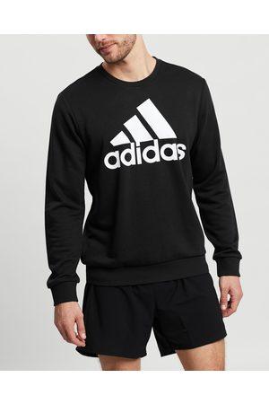adidas Performance Essentials Big Logo Sweatshirt - Crew Necks ( & ) Essentials Big Logo Sweatshirt