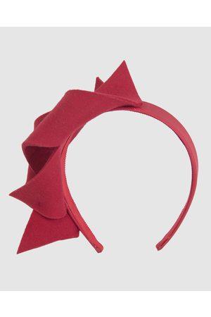 Max Alexander Women Headbands - Twisted Felt Racing Fascinator headband - Fascinators Twisted Felt Racing Fascinator headband