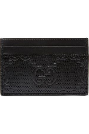 Gucci Men Wallets - GG embossed card case