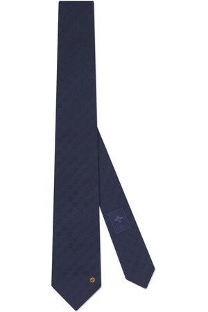 Gucci Men Neckties - Interlocking G silk tie