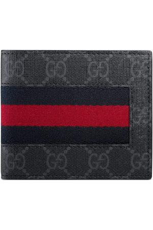 Gucci Men Wallets - GG Supreme Web wallet
