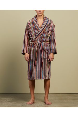 Paul Smith Signature Stripe Towelling Dressing Gown - Sleepwear (Multi) Signature Stripe Towelling Dressing Gown