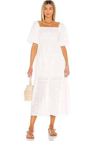 Minkpink Women Maxi Dresses - Luna Smock Maxi Dress in .