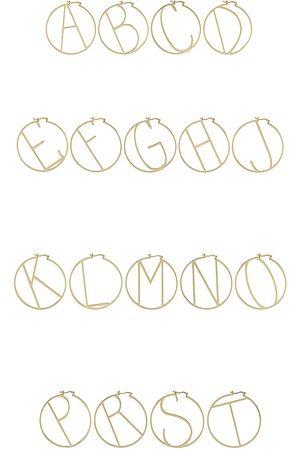 Retrofete Women Earrings - Hoop Alphabet Earring in .