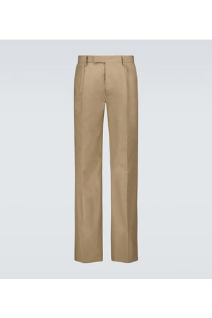 Amiri Pleated cotton pants