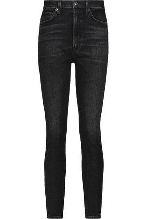 Agolde Women Boyfriend - Pinch high-rise skinny jeans
