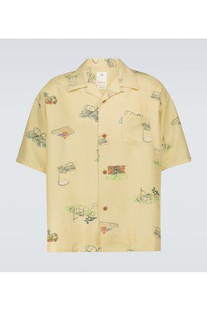 VISVIM Wallis Garden silk shirt