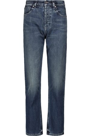 Saint Laurent Mid-rise straight jeans