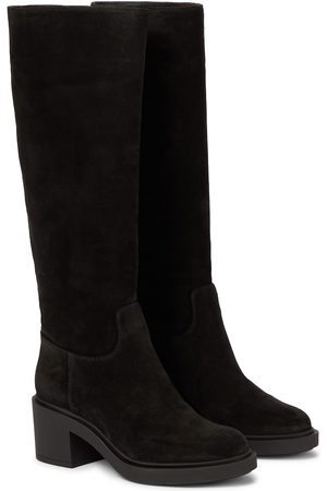 Gianvito Rossi Women Knee High Boots - Knee-high suede boots