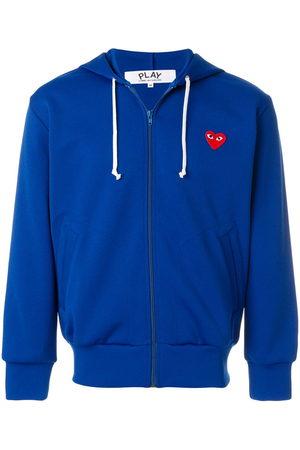 Comme Des Garçons Play Men Hoodies - Zipped heart logo hoodie