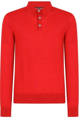 Dolce & Gabbana Long-sleeve polo shirt