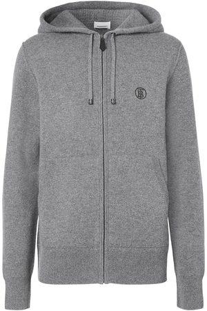 Burberry Monogram motif cashmere hoodie