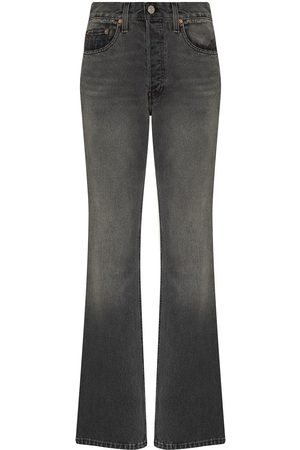 RE/DONE Women Bootcut & Flares - 70s cotton bootcut jeans